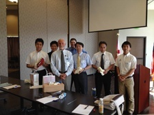 Dr. Hynes and TBC hosted three visiting surgeons from Japan.