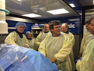 Dr. Hynes, Dr. Datta and Dr. Wasselle all taught an OLIF51 course in New Orleans, LA. There were 34 attendees present to learn the OLIF25 and OLIF51 technique for lumbar fusion that as developed in Melbourne, FL by the surgeons at the BACK Center.